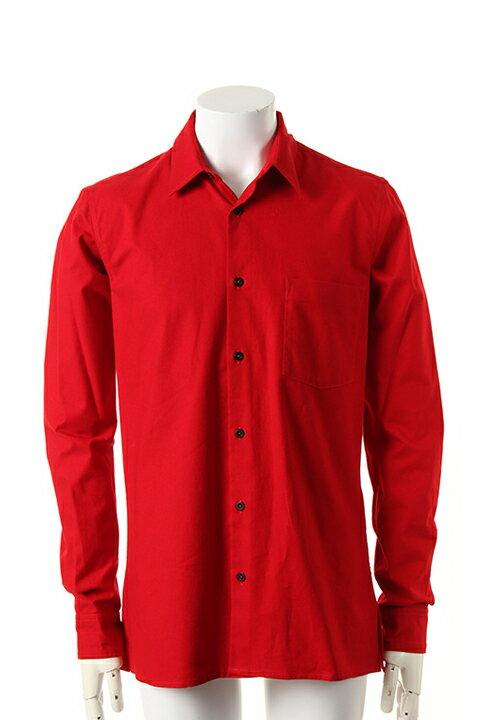 トップス, カジュアルシャツ ANN DEMEULEMEESTER SHIRT GRATTE RED21-01-852024-00152-3610-1 54-AEA