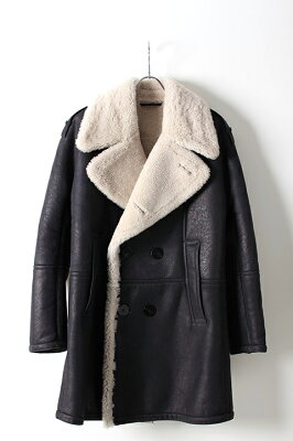 Neil Barrett (ニールバレット) NABUK SHEARLING PEA COAT