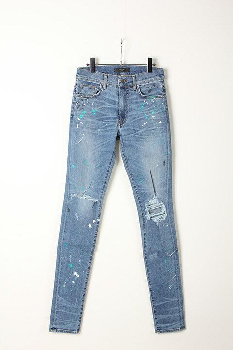 メンズファッション, ズボン・パンツ 30OFF128,70090,090 AMIRI Paint Splatter Jean-AIA