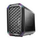 【予約6/5発売】Antec 2種類のフロントパネルを選べる 倒立式MicroATXキューブケース Dark Cube ブラック