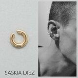 【SASKIA DIEZ サスキア ディツ】BRASS GOLD BOLD EAR CUFF NO2 イヤーカフ ゴールド