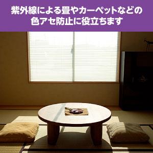 畳の色アセ防ぐ