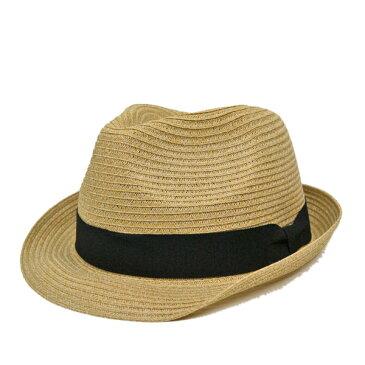 春 夏 中折れ帽 中折れハット 中折れ帽子 洗える ハイバック ハット 58cm 60cm 62cm UV 日よけ 軽い 大きいサイズ 【楽ギフ_包装】