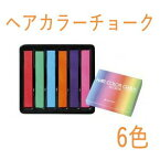 【全品対象 200円OFFクーポン】アレス ヘアカラーチョーク 6色 プレゼント