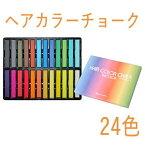 【全品対象 200円OFFクーポン】アレス ヘアカラーチョーク 24色 プレゼント