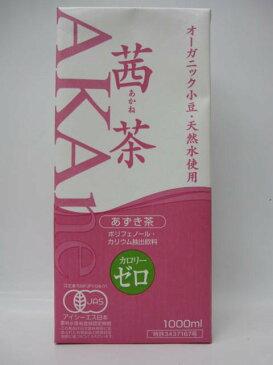 オーガニック茜茶 1000ml 1ケース(6本入)【sakep_1101】