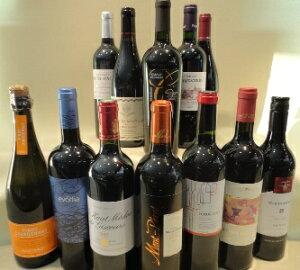【送料無料】人気のワインが勢揃い!」「神の雫」登場ワイン12本セット750ml×12本