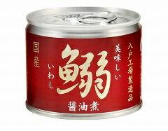 【送料無料】伊藤食品 美味しい鰯醤油煮 190g×72個/3ケース【北海道・東北・四国・九州・沖縄県は必ず送料がかかります】