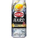 アサヒ ウィルキンソン ハード 無糖レモン 500ml×24本 【ご注文は2ケースまで1個口配送可能です】