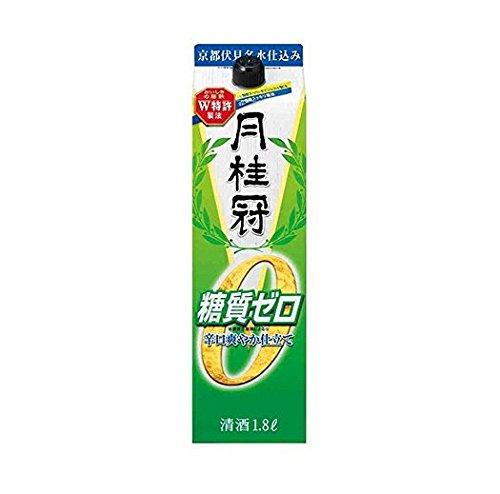 【あす楽】 月桂冠 糖質ゼロ<紙パック> 1.8L 1本【ご注文は2ケース(12本)まで同梱可能です】