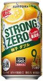 -196℃ ストロングゼロ 柚子ダブル 350ml×24本【ご注文は2ケースまで1個口配送可能】