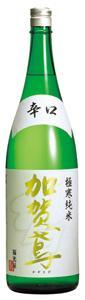 <加賀鳶>極寒純米 辛口 1.8L 1本【ご注文は1ケース(6本)まで同梱可能です】
