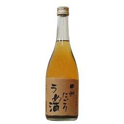 笹一 甲州にごりうめ酒 18度 720ml【笹一酒造 山梨県 にごり 梅酒 ささいち リキュール】