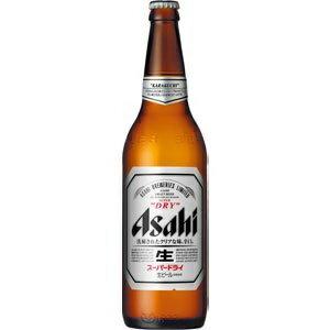ビール   アサヒスーパードライ大瓶633ml瓶1ケース(20本入り) 東北・北海道・沖縄・離島の一部を除く(東北は400円北