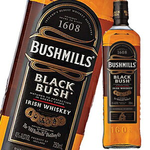 【PR※1Lボトル18本迄1個口送料】ブッシュミルズ ブラックブッシュ 40度 700ml 並行品【PR...
