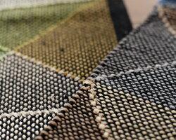 ラグマットラグカーペット絨毯インドコットン綿男前西海岸北欧モデルノ約90cm×130cm【北欧西海岸塩系】【】
