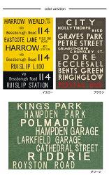 ヴィンテージビンテージカーペットラグマット絨毯英字文字ロゴお洒落トレーノ約100×140cm【】