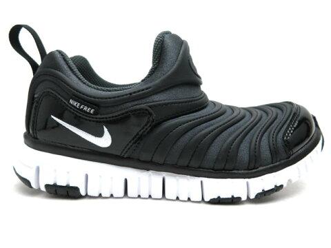 NIKE ダイナモフリーPS 343738子供靴 ナイキ スニーカー ジュニア スニーカーキッズ スリッポン 紐なし 子供靴 運動靴 ブラック (013)17cm 18cm 19cm 20cm 21cm 22cm