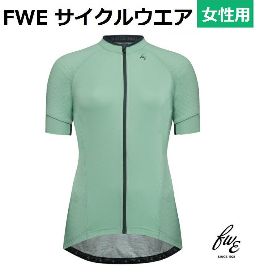 サイクルジャージ FWE LTRレディース おしゃれ半袖サイクルウエア S・Mサイズ