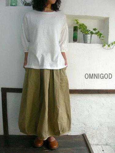 OMNIGOD(オムニゴッド) リバースチノ ギャザースカート