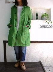 OMNIGOD(オムニゴッド) 綾ダンプ ステンカラーコート【SMTB-ms】