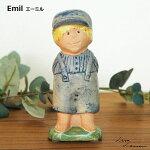 Emil(エーミル)LisaLarson(リサラーソン)アストリッド・リンドグレーン,オブジェ置物北欧スウェーデン