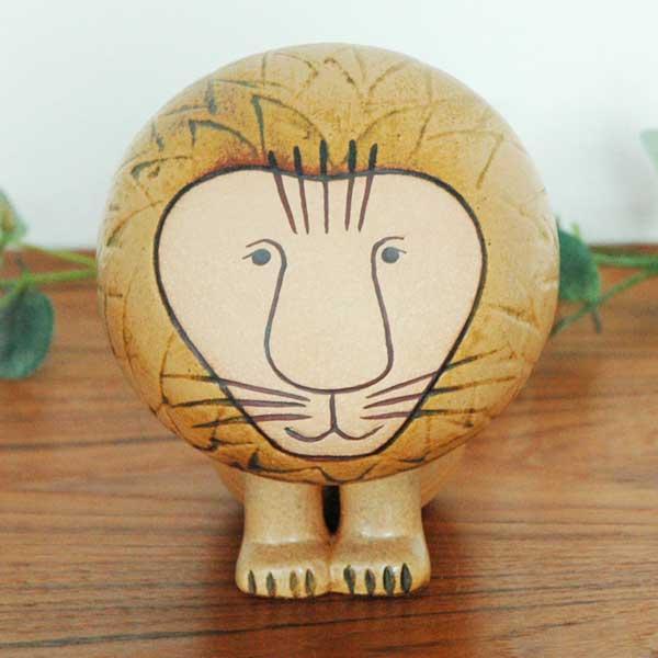 Lisa Larson(リサラーソン)Lion(ライオン)ミディアムサイズ スウェーデン 北欧オブジェ 置物 ギフト対応【送料無料】【HLS_DU】【RCP】