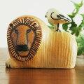 LionwithBird(ライオンと鳥)・LisaLarson(リサ・ラーソン)北欧オブジェ