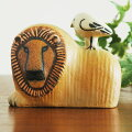 LionwithBird(�饤�����Ļ�ˡ�LisaLarson(�ꥵ���顼������̲����֥���