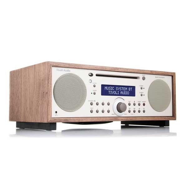 Music System BT(ミュージックシステム ビーティー)Bluetooth対応モデル/ウォールナット×ベージュ/ラジオ/Tivoli Audio(チボリオーディオ)【RCP】