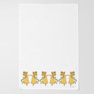 エルサべスコフ・キッチンタオル45×65cm/DandelionたんぽぽDESIGNHOUSEstockholm(デザインハウスストックホルム)