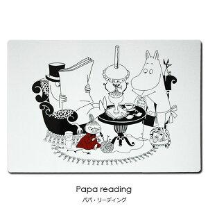 ムーミン・テーブルマット,パパリーディング/optodesign(オプトデザイン)/北欧キッチン雑貨/ムーミングッズ/北欧雑貨