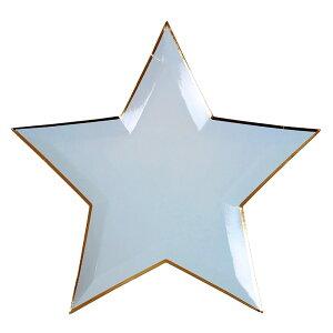 【Meri Meri】Jazzy Star カラフルスタープレート 8色【星 ダイカット スター プレート 紙皿 ペーパープレート】【アソート カラフル】 あす楽 リトルレモネード メリメリ