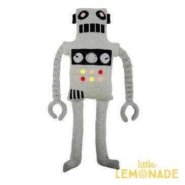 【Meri Meri】ロボットのぬいぐるみ ソフトトイ ファブリックトイ ギャラクシー 子供のおもちゃ ギフト 出産祝い 誕生日祝い クッション 子供部屋 インテリア Large Robot Knitted Toy あす楽 リトルレモネード メリメリ