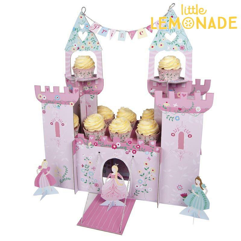 プリンセス キャッスルセンターピース 【I'm a princess】【Meri Meri】誕生日 飾り プリンセス お姫さま お城 センターピース カップケーキスタンド cupcake stand インテリア ディスプレイ あす楽 リトルレモネード メリメリ