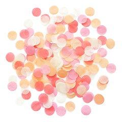 あす楽!コンフェッティ 【ピーチオレンジ】 紙吹雪 Peach Sorbet 装飾 バルーン …