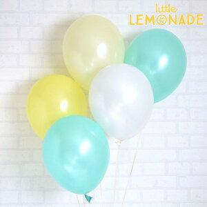あす楽!【風船】パーティーバルーン 5枚パック グリーンイエロー  誕生日やお祝いの飾り付けに 【パーティーデコレーション】【アメリカ製高品質】【メール便可】
