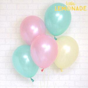 あす楽!【風船】パーティーバルーン 5枚パック ピンクミント  誕生日やお祝いの飾り付けに 【パーティーデコレーション】【アメリカ製高品質】【メール便可】