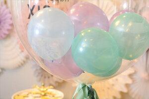 あす楽!【送料無料】1歳誕生日男の子用お祝いバルーン【浮かせてお届け】ヘリウムガス入りカップケーキバルーンブーケ【1歳誕生日パーティー飾り付けギフトバルーン電報風船】