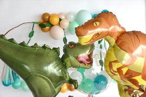 あす楽!【送料無料】ラプトルバルーン恐竜ドラゴンダイナソー【浮かせてお届け】ヘリウムガス入り男の子が喜ぶお祝い誕生日バースデイパーティー風船ディスプレイレセプション装飾リトルレモネード