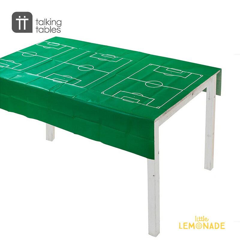 サッカーフィールドデザインテーブルカバー【Talking Tables】 テーブルクロス サッカー soccer フットボール 誕生日 パーティー テーブルコーディネート football ホームパーティー Party Champions Table Cover あす楽 リトルレモネード