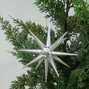 木製オーナメント【ベツレヘムの銀の星大】クリスマス木製オーナメント【ベツレヘムの銀の星大...