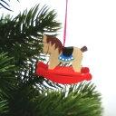 【クリスマス用品】Graupner:グラウプナー・木馬[ Christmas:クリスマスオーナメント ]★マラソン最大10倍ポイント&クーポン!★