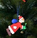 【クリスマス用品】Graupner:グラウプナー・飛んでるサンタ[ Christmas:クリスマスオーナメント ]★まだ間に合うクリスマス準備!全商品最大10倍!★