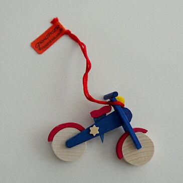 【クリスマス用品 】Graupner:グラウプナー・2輪バイク[ Christmas:クリスマスオーナメント ]