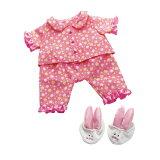 【ボーネルンド】お世話人形 ベビー・ステラ おやすみフラワーパジャマ
