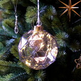 【クリスマス用品】ハンギングLEDライト:キューブライト[ Christmas:クリスマスオーナメント ]【年に1度の売り尽くしSALE!全品12倍!売切れ終了!】