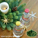 【クリスマス用品】ヌードクリスマスリース【RS GLOBAL TRADE:正規輸入品】自分だけのリースを作りましょう♪
