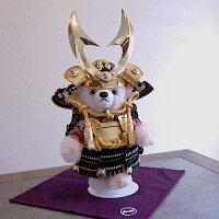 【Steiff:シュタイフ】限定!テディベア雛人形:台座屏風付
