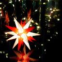 【クリスマス用品・入荷しました!】13cmベツレヘムの星ミニライト[ Christmas:クリスマス ]